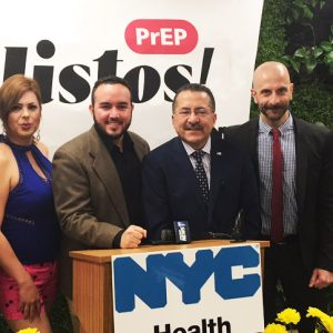 """New York City Department of Health Launches """"¡LISTOS! First-Ever and Historic PrEP Campaign Conceived in Spanish"""