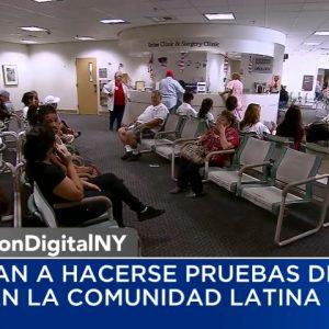Buscan incentivar a la comunidad hispana de Nueva York a realizarse el examen de detección del VIH