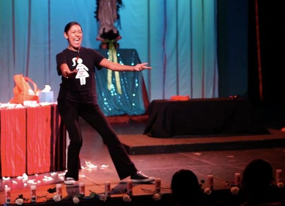 """National Latinx AIDS Awareness Day Performance: """"The AIDS Lady"""" Solo Play by Anna De Luna"""